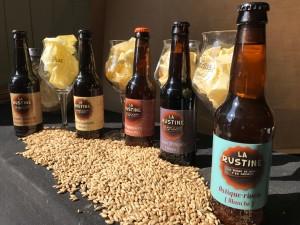 les 5 bières de la Rustine
